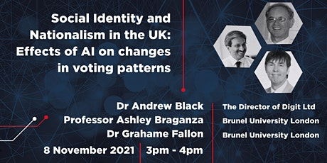 Social Identity and Nationalism in the UK:   AI and voting patterns tickets