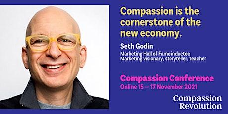 Can compassion flourish alongside capitalism? Seth Godin & Mary Freer tickets