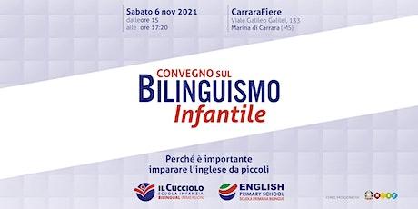 Convegno Bilinguismo Infantile biglietti