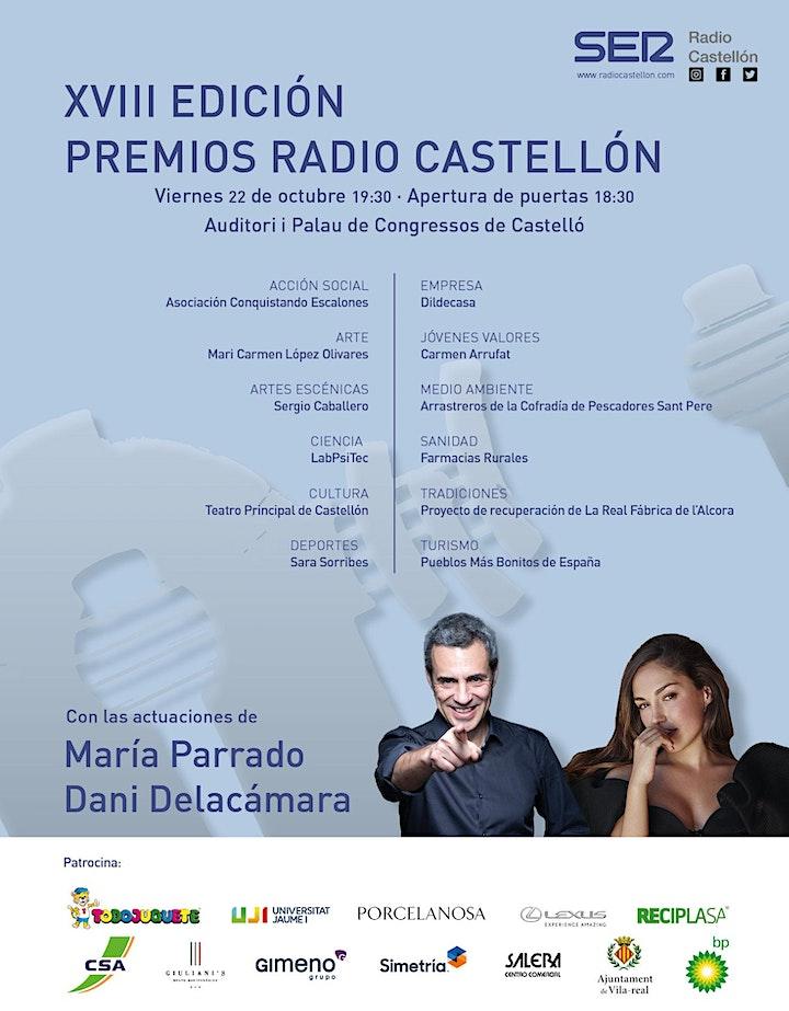 Imagen de XVIII EDICIÓN PREMIOS RADIO CASTELLÓN