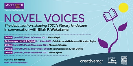 NOVEL VOICES. An online series of events hosted by Ellah P. Wakatama. tickets
