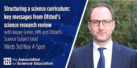 Structuring a science curriculum: messages from Ofsted's research review tickets