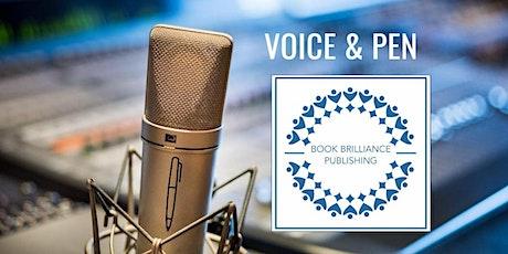 Voice & Pen Networking  Online Event 7.30pm-9.00pm BST biglietti