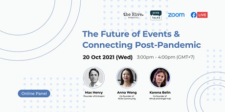 Online Panel: The Future of Events; Connecting Post-Pandemic tickets