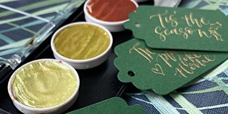 Brighton: Christmas Sparkle Nib Calligraphy tickets