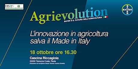 Agrievolution: l'innovazione in agricoltura salva il Made in Italy biglietti