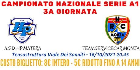 HP Matera - Teamservicecar Monza biglietti