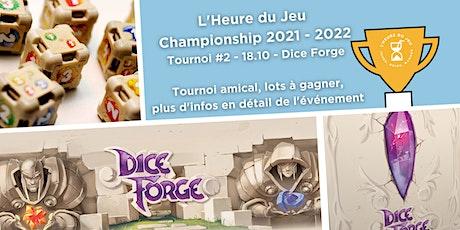 Tournoi Dice Forge billets