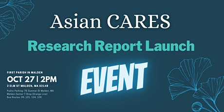 Asian CARES Research Report Launch tickets