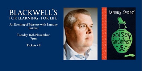 An Evening of Mystery with Lemony Snicket tickets