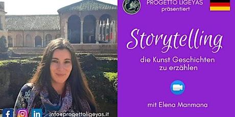 Evento Gratuito in tedesco - Storytelling:die Kunst Geschichten zu erzählen Tickets