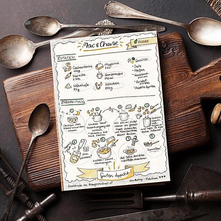 Foodilicious - DER Sketchnote Workshop für echte Foodies!: Bild