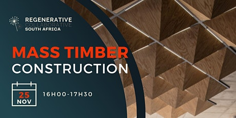 RCSA: Mass Timber Construction tickets