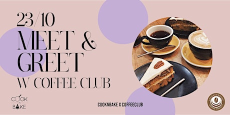 Coffee and cake decorating workshop meet and greet tickets