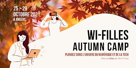 Wi-Filles Autumn Camp billets