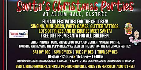 Santa's Garden Grotto - Christmas Parties at Allum Hall tickets