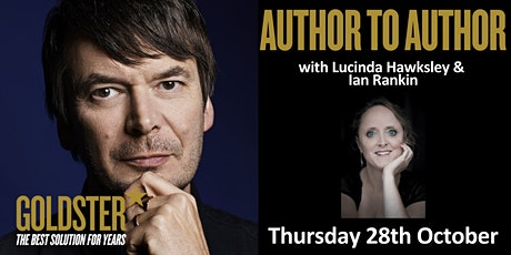 Goldster Author to Author - talk with Ian Rankin and Lucinda Hawksley tickets
