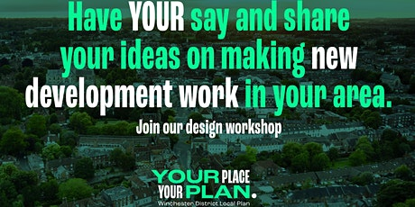 Development in your community - Winchester Town  (Afternoon session 3:30pm) tickets