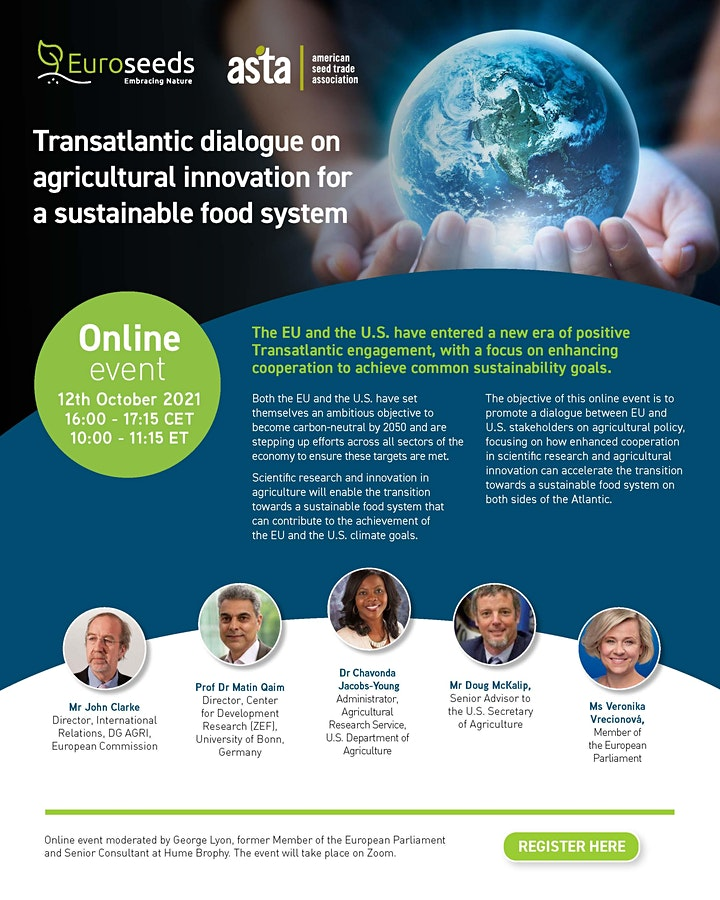 Transatlantic dialogue on agricultural innovation image