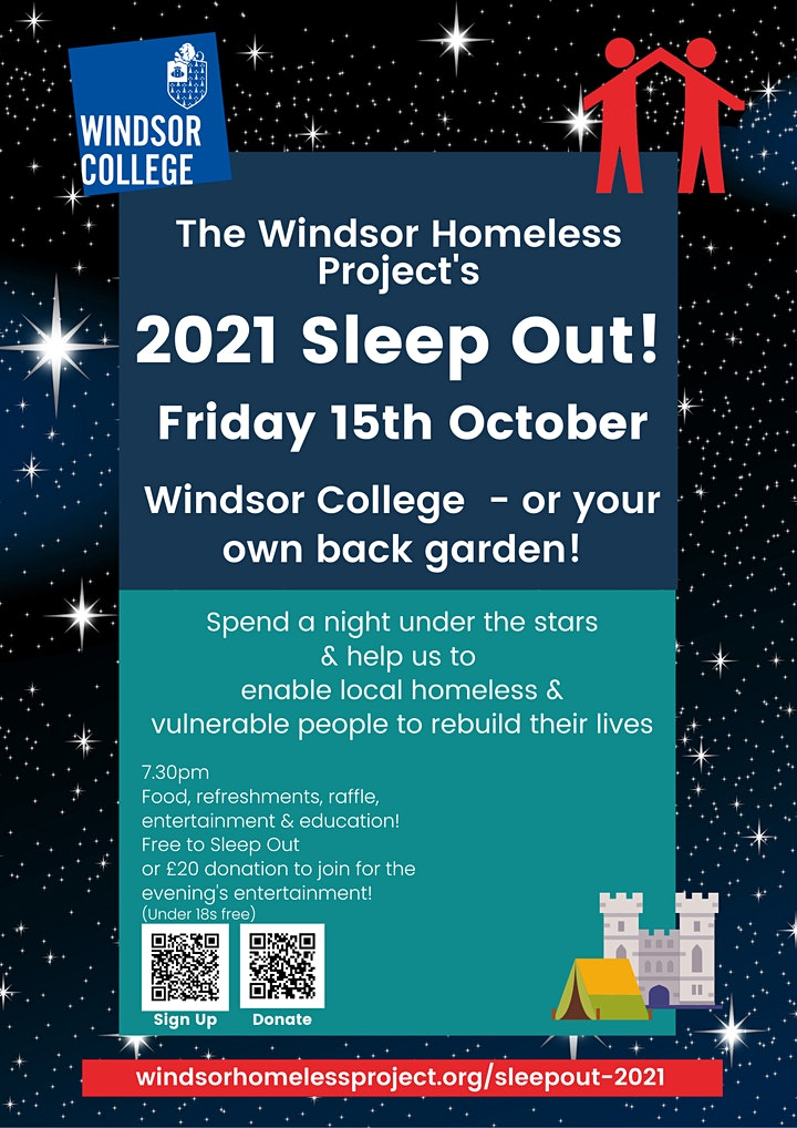 WHP's SleepOut 2021 image