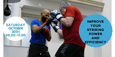 Striking Seminar - Improve your striking power and efficiency tickets