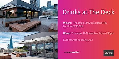 NextGeneration Network - Drinks at The Deck tickets