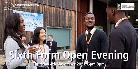 Sixth Form Open Evening for September 2022 Admissions tickets