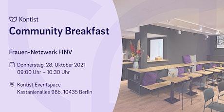 """Netzwerk-Frühstück """"Frauen in Verantwortung"""" Tickets"""