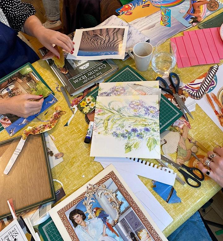 Vintage Collage Workshop in South London! image