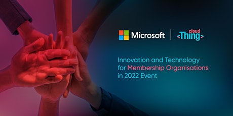 Innovation and Technology for Membership Organisations in 2022 tickets