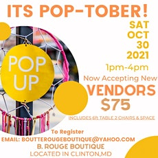 Fall into a Pop Up for Local Vendors tickets