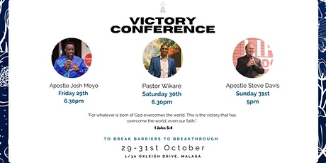Victory Conference tickets