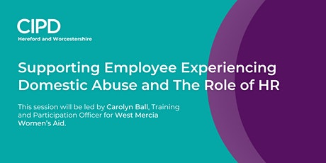 Supporting Employees Experiencing Domestic Abuse and The Role of HR tickets