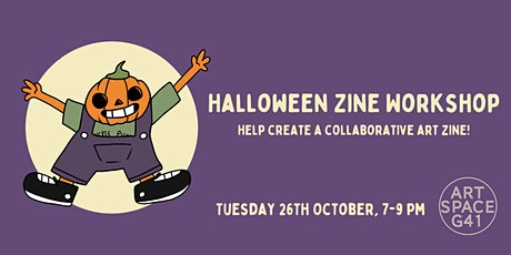 Halloween Zine Workshop - Help create a collaborative art zine! tickets