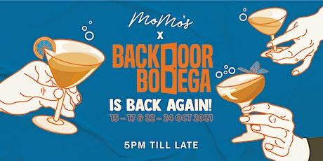 MoMo's x Backdoor Bodega tickets