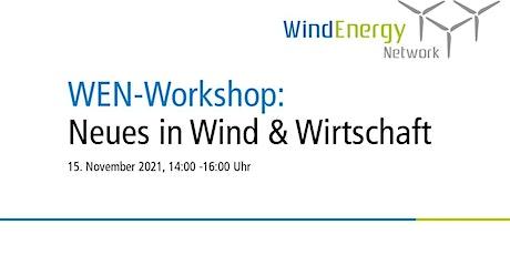 Workshop:  Neues in Wind und Wirtschaft Tickets