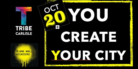 You CREATE Your City tickets
