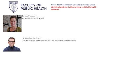 Building Back Primary Care & PH Webinar #4: Trauma-informed primary care tickets