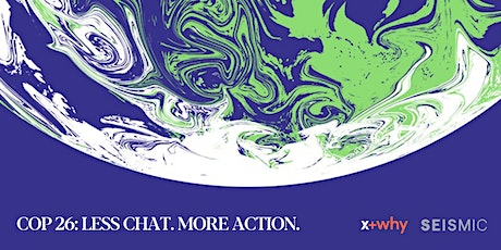 COP26: Less chat. More action tickets