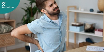 image for the event Free online event: Back pain