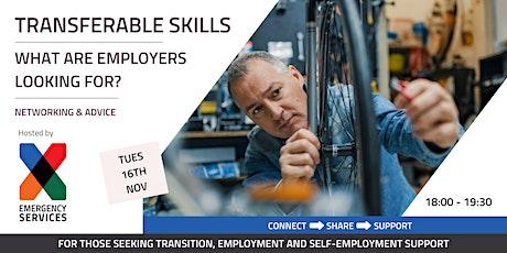 X-ES Professional Network - Transferable Skills tickets