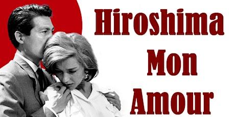 Projection de film : Hiroshima mon amour billets