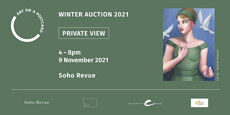 Art on a Postcard - Winter Auction Private View tickets