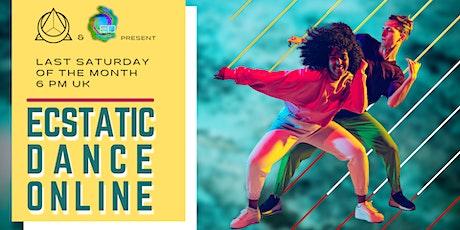 Ecstatic Dance Online - Worldwide tickets