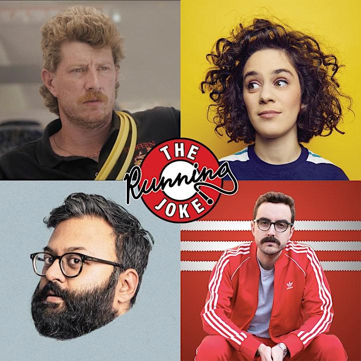 The Running Joke Digital Comedy Club image