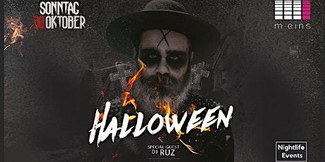 HALLOWEEN 31.10.2021 Tickets
