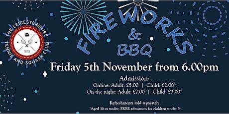 Firework Display and BBQ tickets