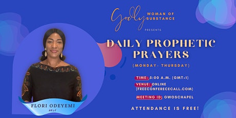 Prophetic Prayers for Divine Health tickets