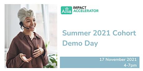 Allia's Impact Accelerator Demo Day tickets