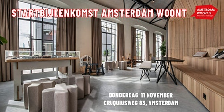 Startbijeenkomst verzelfstandiging Amsterdam Woont tickets